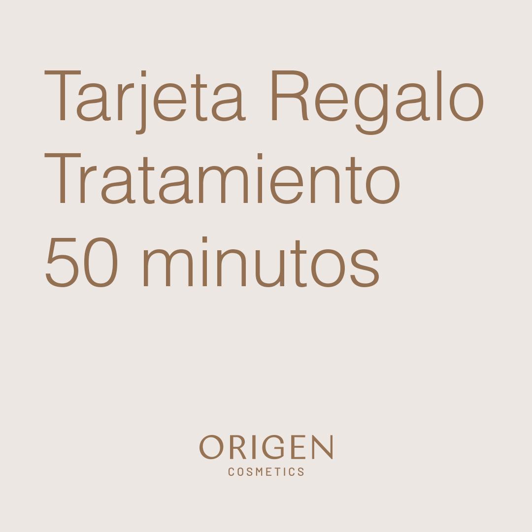 TARJETA REGALO TRATAMIENTO 50 min 1