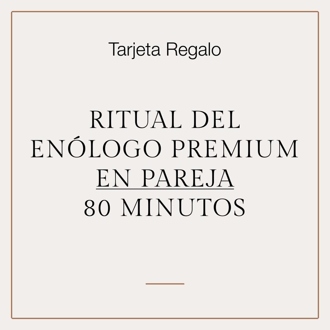 Tarjeta Regalo Ritual del Enólogo Premium en pareja 1