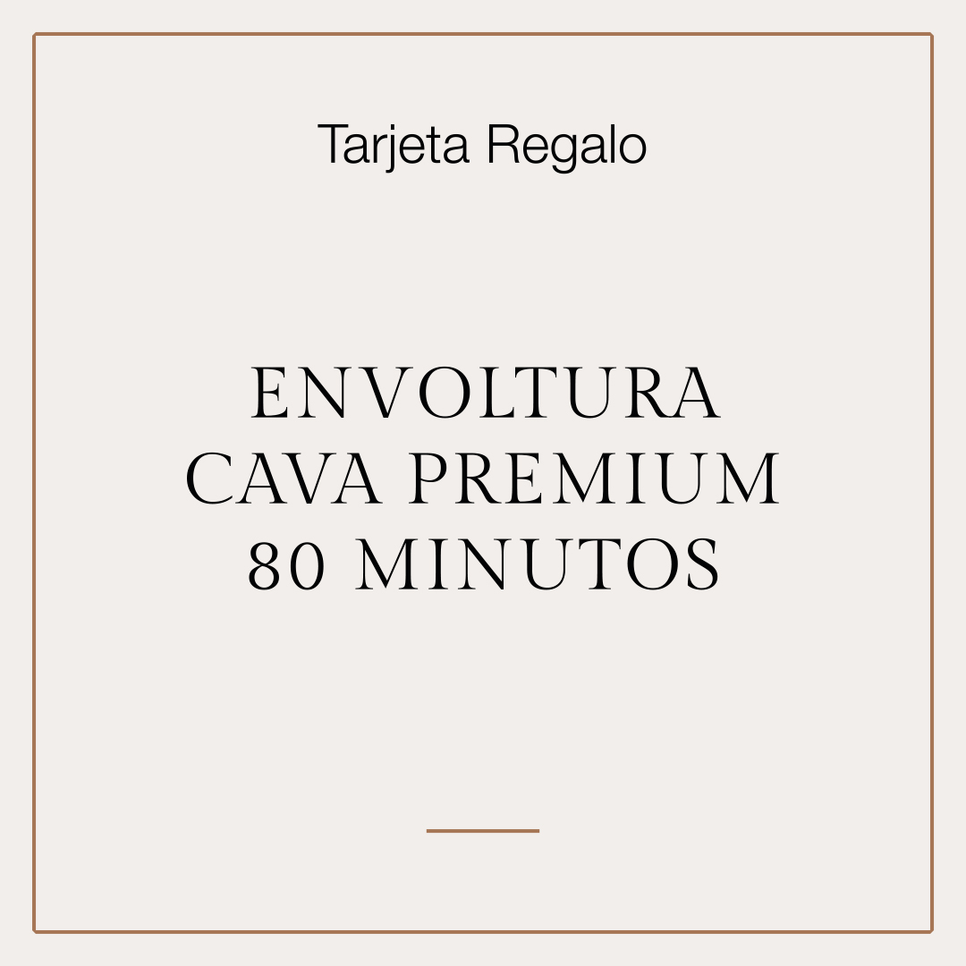 Tarjeta Regalo Tratamiento Envoltura Cava Premium 1